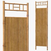 Bamboo Wall Panel 3d model